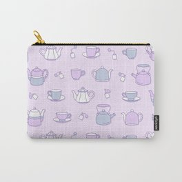 Tea Party Carry-All Pouch