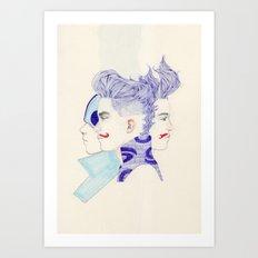 Trio Art Print