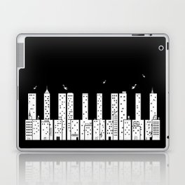 Piano Skyline Laptop & iPad Skin