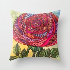 Just Rosy Throw Pillow