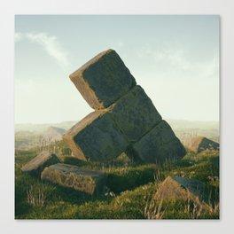 Ancient Tetris Canvas Print