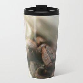 Coffee beans in glass jar - still life - fine art print for coffeehouse, coffee shop, cafe, café Travel Mug