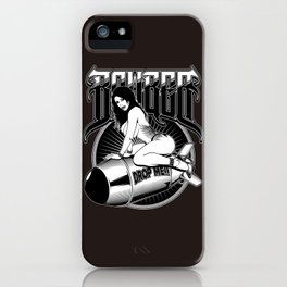 Bomber Pin-Up Girl iPhone Case