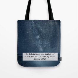 Counts the Stars Tote Bag
