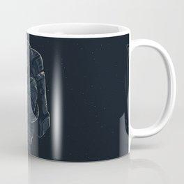 astronaut jellyfish space digital art Coffee Mug