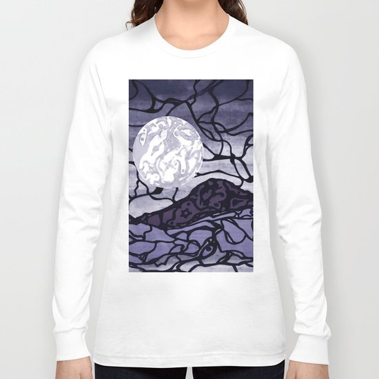 Cracked Long Sleeve T-shirt
