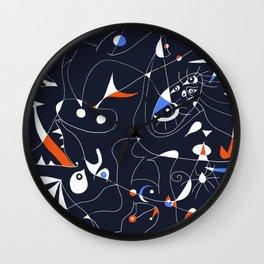 Joan Mirò #6 Wall Clock