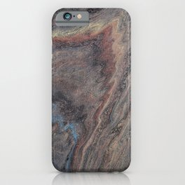 Tobacco and Suede iPhone Case
