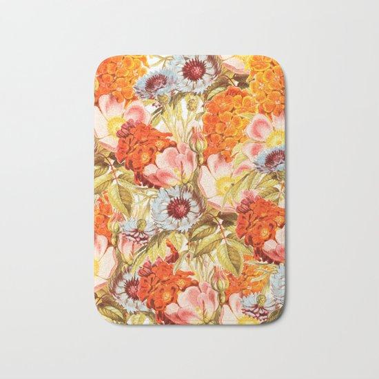Coral Bloom #society6 #decor #buyart Bath Mat