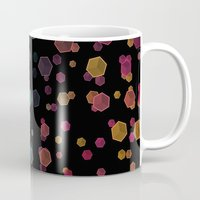 gravity Mugs featuring Gravity  by SensualPatterns