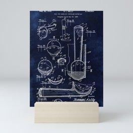 Ice Cream Scoop Blueprint Mini Art Print
