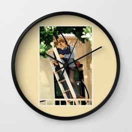 WE SAVE EACH OTHER Wall Clock