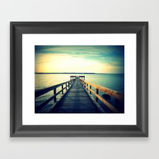 The Meeting Place Framed Art Print