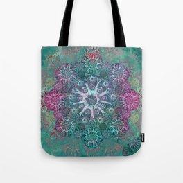 """Mint & Rose Mandala (pattern)"" Tote Bag"
