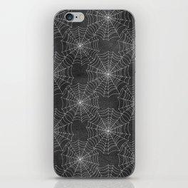 Spider Webs iPhone Skin