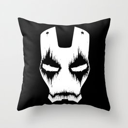 Black Iron Throw Pillow