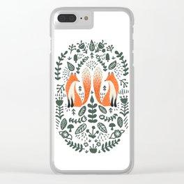 Fox Lore Clear iPhone Case