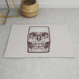 Front Skull Rug