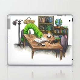 Little Worlds: The Library Laptop & iPad Skin