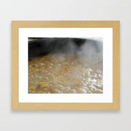 Blup blup Framed Art Print