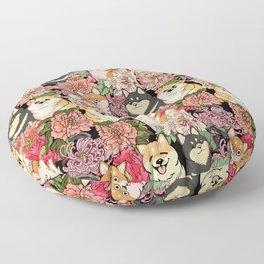 Because Shiba Inu Floor Pillow