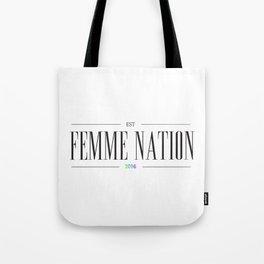Femme Nation Tote Bag