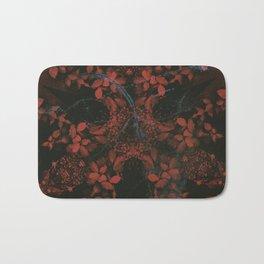 Turning Crimson Bath Mat