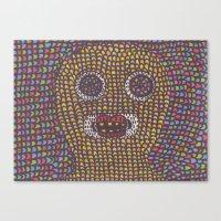 acid Canvas Prints featuring Acid. by jjw3k