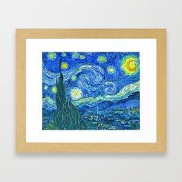 Van Gogh - Starry Night Framed Art Print