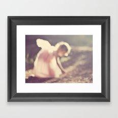 Light fairy Framed Art Print