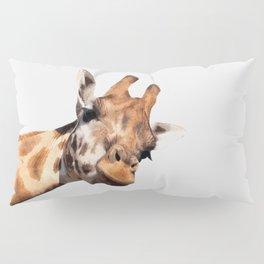 Giraffe portrait Pillow Sham