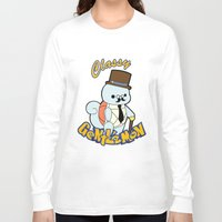 squirtle Long Sleeve T-shirts featuring Classy Squirtle by tshirtsz