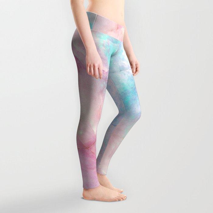 Iridescent marble Leggings
