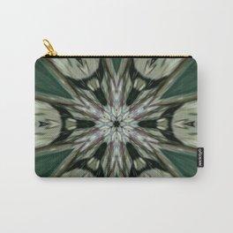 The Green Unsharp Mandala 7 Carry-All Pouch