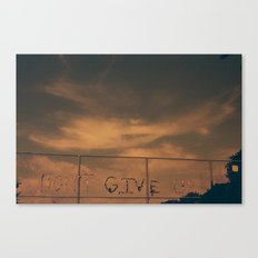 Ever. Canvas Print