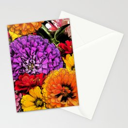 Power Flowers Stationery Cards