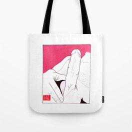 Erection Tote Bag