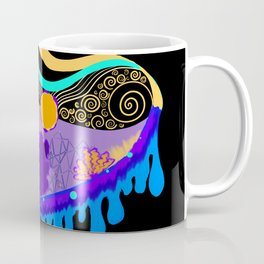 Underwater Dripping landscape Coffee Mug
