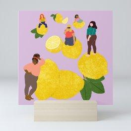 Lemon Babes Mini Art Print
