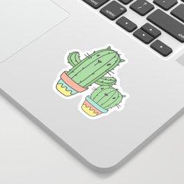 Cat-cus Sticker