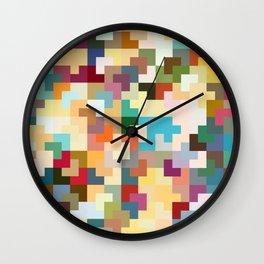 Dreams of Tetris Wall Clock