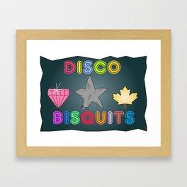 Disco Biscuits Framed Art Print