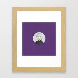 Persona halfs Framed Art Print