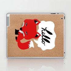 The Fox Says Hello Laptop & iPad Skin