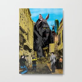 In search of the magical moment Metal Print