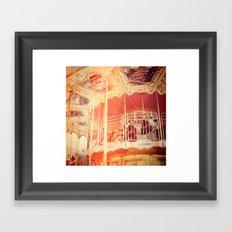 Warm Color Framed Art Print