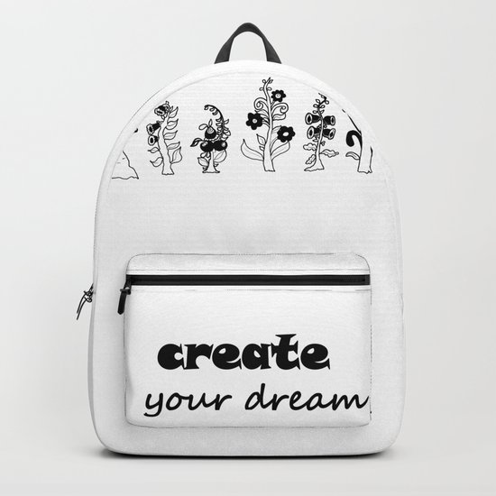 create your dream . the original trees Backpack
