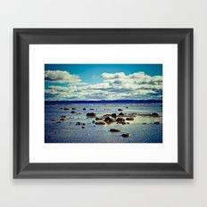 Lake Michigan - Traverse City, MI Framed Art Print