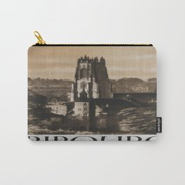 Vintage poster - Fribourg Carry-All Pouch