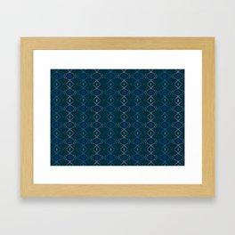 Scissors styling Framed Art Print